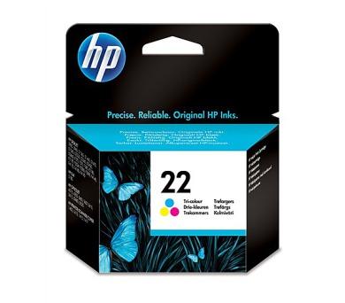 Inkoustová náplň HP No. 22