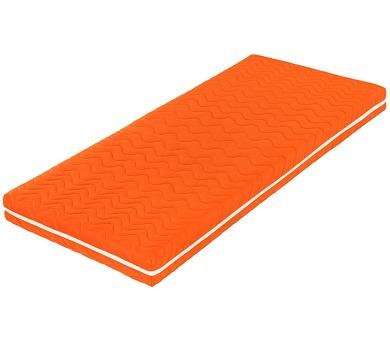 Šárka Top v potahu COLOR (oranžová) (120x200) + DOPRAVA ZDARMA