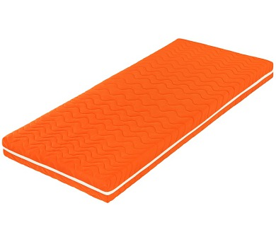 Šárka Top v potahu COLOR (oranžová) (120x210) + DOPRAVA ZDARMA