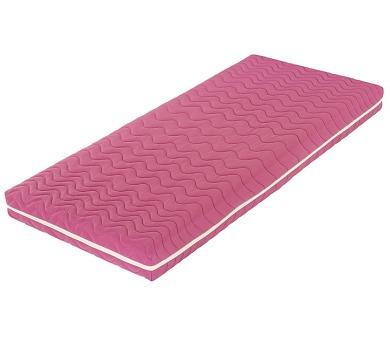 Šárka Top v potahu COLOR (růžová) (100x210) + DOPRAVA ZDARMA