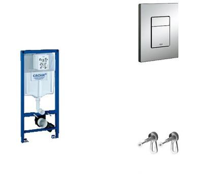 Grohe Rapid SL SET - instalační systém pro závěsné WC 38528S001 v setu - 38772001 + DOPRAVA ZDARMA