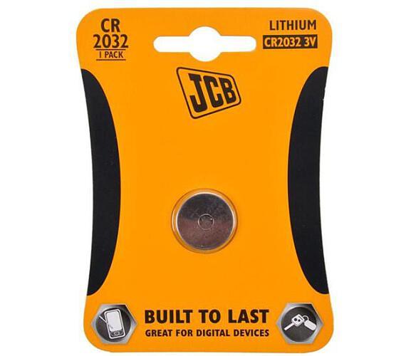 JCB knoflíková lithiová baterie CR2032