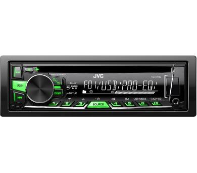 KD R469 AUTORÁDIO S CD/MP3/USB JVC + DOPRAVA ZDARMA