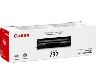 Canon CRG 737 černý + DOPRAVA ZDARMA