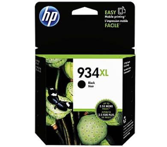 Inkoustová náplň HP 934XL