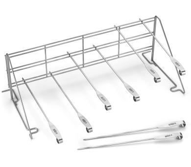 Weber ETC systém - multifunkční grilovací sada špízů + DOPRAVA ZDARMA