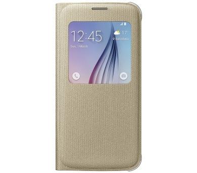 Samsung S-View pro Galaxy S6 (EF-CG920BF) - zlaté + DOPRAVA ZDARMA