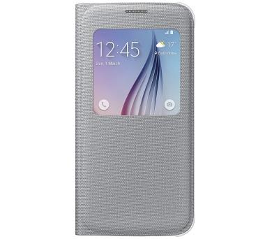 Samsung S-View pro Galaxy S6 (EF-CG920BS) - stříbrné