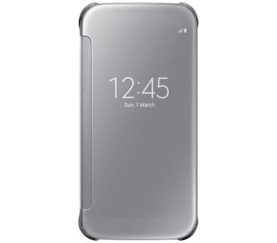 Samsung Clear View pro Galaxy S6 (EF-ZG920BS) - stříbrné