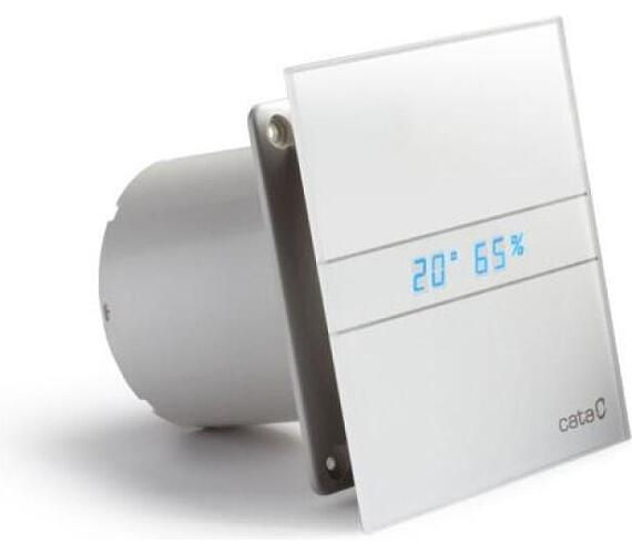 Cata e150 GTH sklo hygro časovač bílý + DOPRAVA ZDARMA