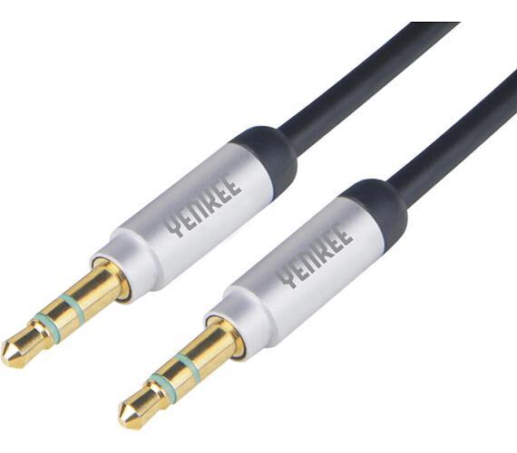 Yenkee YCA 202 BSR kabel AUX M/M 2m kov.