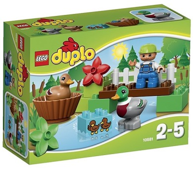 Stavebnice Lego® DUPLO Ville 10581 Divoké kachny