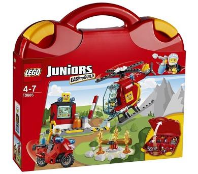 Stavebnice Lego® Juniors 10685 Hasičský kufřík + DOPRAVA ZDARMA