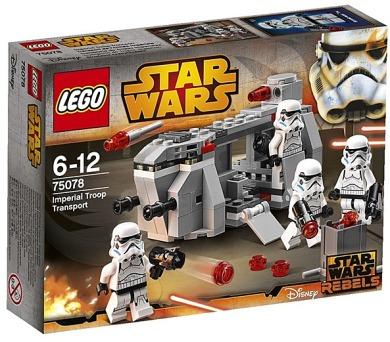 Stavebnice Lego® Star Wars TM 75078 Přepravní loď Impéria