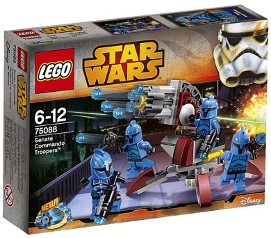 Stavebnice Lego® Star Wars TM 75088 Senate Commanod Troopers