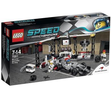 Stavebnice Lego® Speed Champions 75911 Zastávka v boxech pro McLaren Mercedes