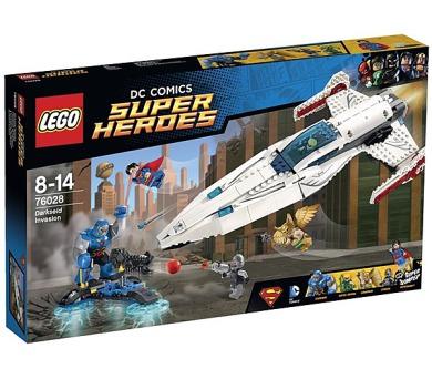 Stavebnice Lego® Super Heroes 76028 Invaze Darkseida