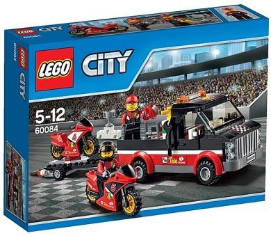 Stavebnice Lego® City Great Vehicles 60084 Přepravní kamion na závodní motorky