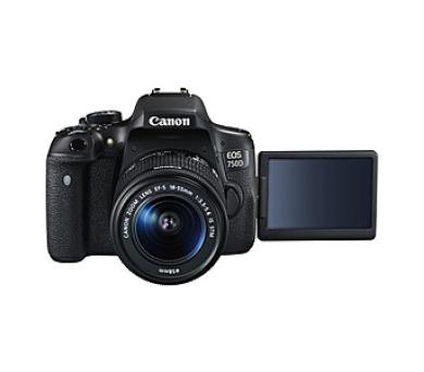 Canon EOS 750D + 18-55 IS STM + ramenní popruh JOBY Zdarma + DOPRAVA ZDARMA