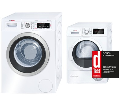 Bosch WAW32540EU + Sušička Bosch WTW85460BY + 100 dní možnost vrácení*