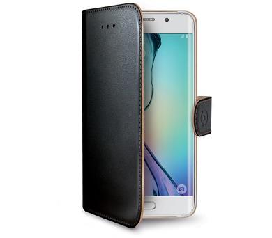 Celly Wally pro Galaxy S6 Edge - černé