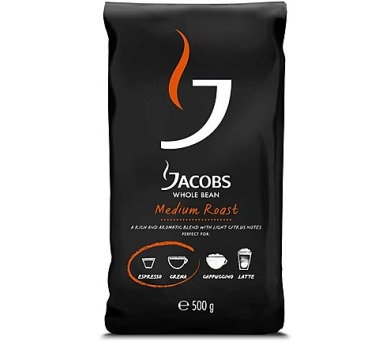 Jacobs Whole bean Medium roast 500g