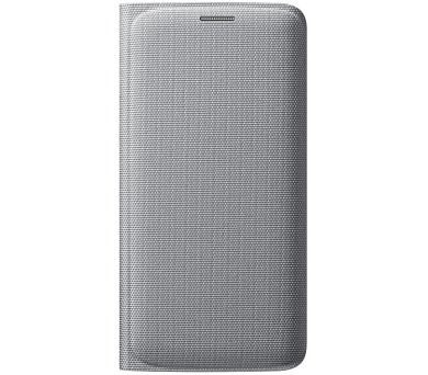 Samsung pro Galaxy S6 Edge s kapsou (EF-WG925B) - stříbrné