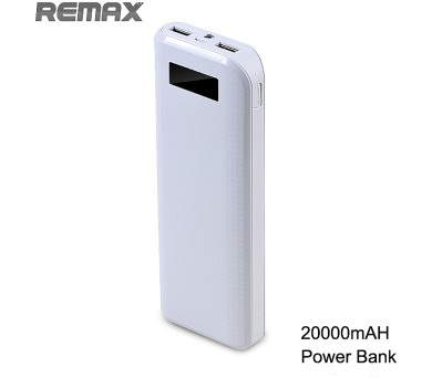 Power Bank REMAX 20.000 mAh WHITE + DOPRAVA ZDARMA