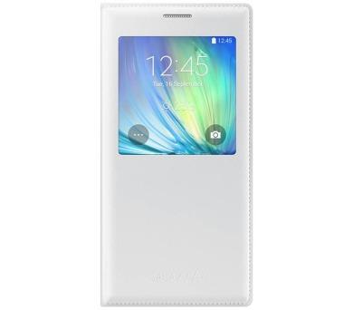Samsung S-View pro Galaxy A7 (EF-CA700BW) - bílé + DOPRAVA ZDARMA