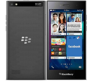 BlackBerry Leap - černý