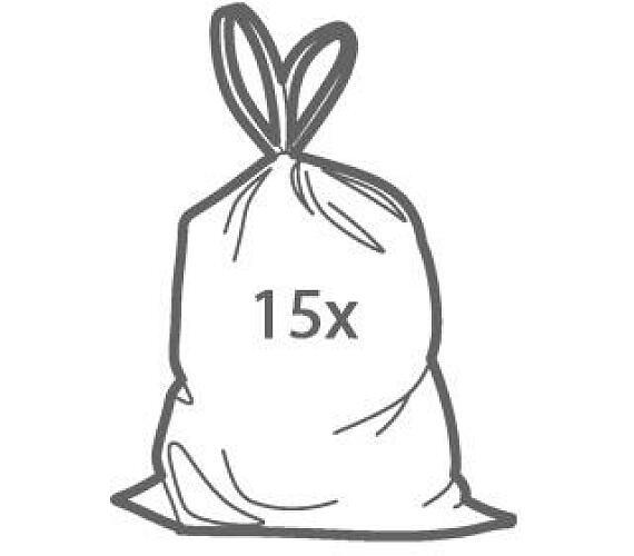 Zatahovací sáčky do odpadkových košů CLEAN KIT 60 l