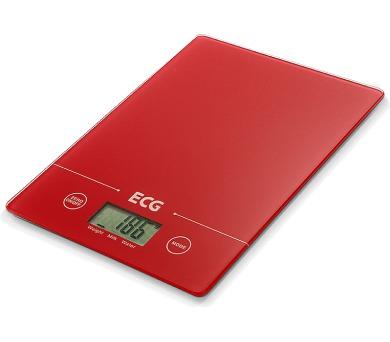 ECG KV 117 SLIM červená