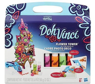 Play-Doh Doh Vinci set dekorovací květinová věž + DOPRAVA ZDARMA