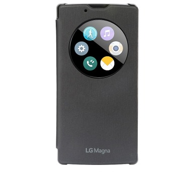LG Quick Circle (Overlay type) pro Magna - černé + DOPRAVA ZDARMA