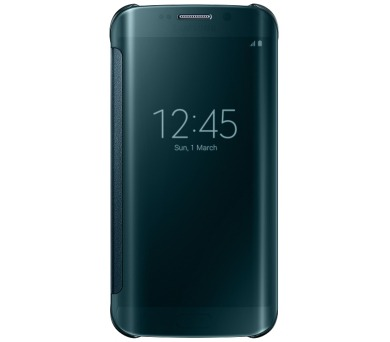 Samsung Clear View pro Galaxy S6 Edge (EF-ZG925B) - zelené