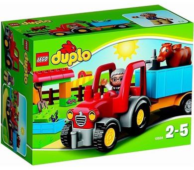 Stavebnice LEGO® DUPLO Ville 10524 Traktor
