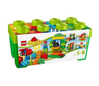 Stavebnice LEGO® DUPLO Kostičky 10572 Box plný zábavy