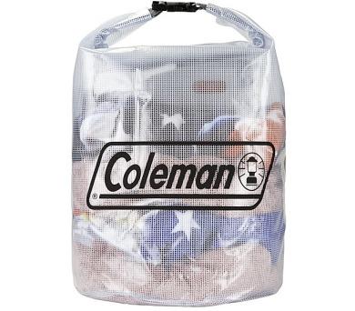 Coleman Dry Gear Bags Medium 35l - průhledná