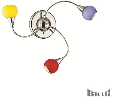 TENDER PL3 COLOR - POZOR ! Ideal Lux 006543 + DOPRAVA ZDARMA