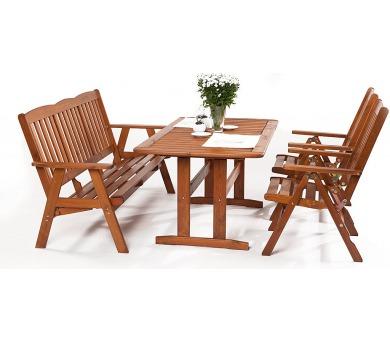 Zahradní nábytek sestava Sven 2+ 3+ + DOPRAVA ZDARMA