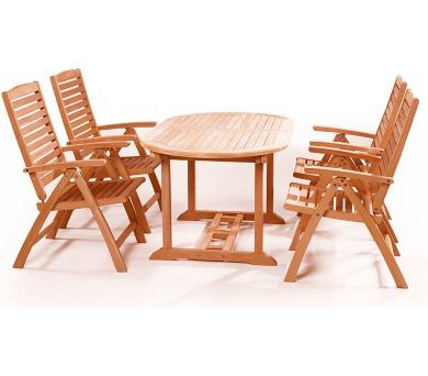 Zahradní nábytek sestava Alovis 4+ + DOPRAVA ZDARMA