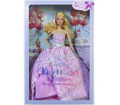Barbie Mattel krásné narozeniny