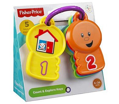 Barevné klíče Fisher Price