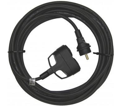 1f prodlužovací kabel 3x1,5mm 2 zásuvky 25m