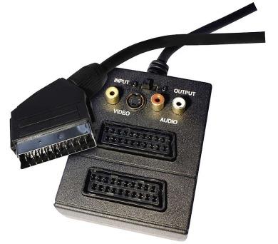 AV kabel SCART - 2x SCART + 3x CINCH + 1x SVHS 0,5- VÝPRODEJ