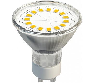 Dichroická 15 LED SMD 2835 4W GU10 teplá bílá