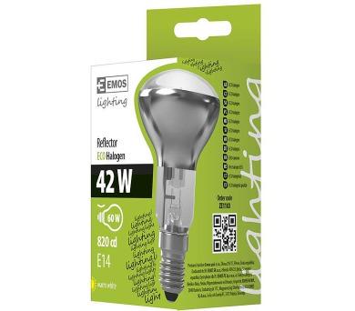 Halogenová žárovka ECO R50 42W E14 teplá bílá