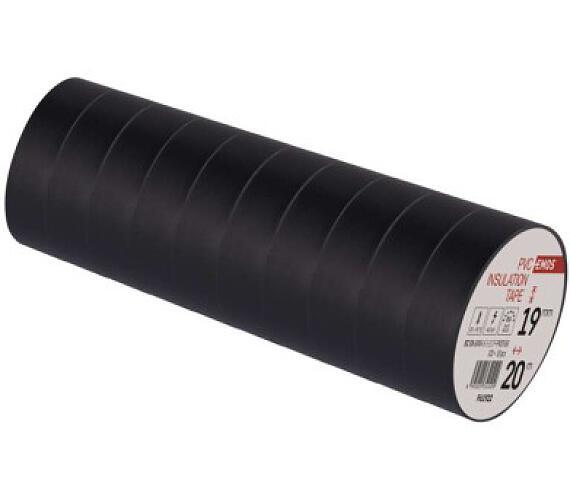 Izolační páska PVC 19mm / 20m černá