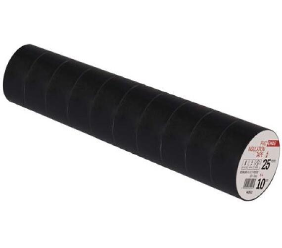 Izolační páska PVC 25mm / 10m černá