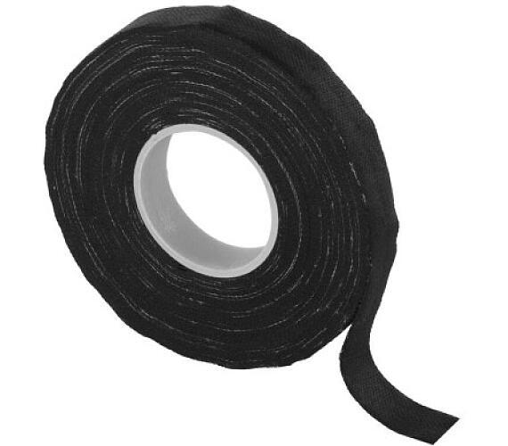 Izolační páska textilní 15mm / 15m černá